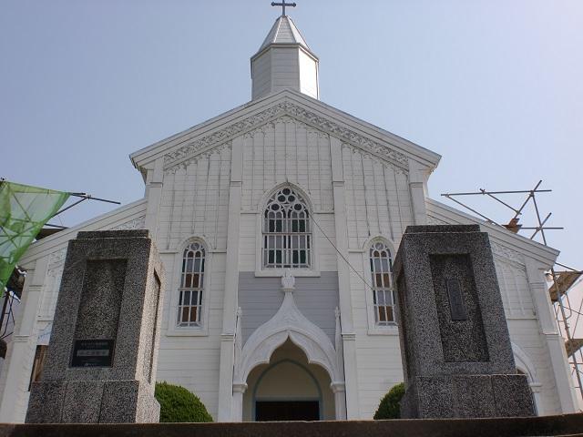水の浦教会(五島)の画像
