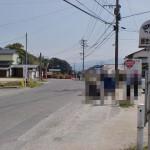 師市公民館バス停(昭和バス)の画像
