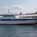 博多埠頭と玄界島を結ぶ市営渡船「げんかい」の画像