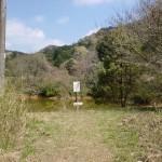 鴨ヶ岳(嘉麻市)登山道入口の画像