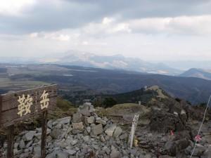 鞍岳山頂の画像