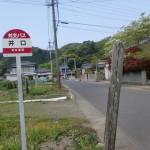 井口バス停(対馬・井口地区)の画像