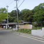 千俵蒔山の入口となる井口地区の交番前の画像