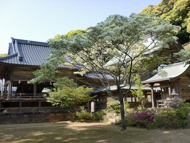 木坂海神神社(対馬)の画像