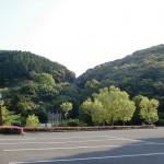 神話の里自然公園の入口駐車場の画像