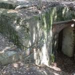 城城山砲台(城山堡塁)の地下壕か弾薬庫みたいな建造物の画像