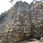金田城跡(城山)の「一の城戸」の画像