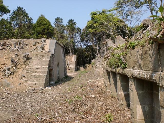 郷山砲台(尾崎砲台群・対馬)の画像