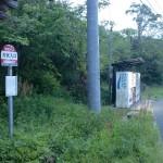 犬吠入口バス停(対馬交通)の画像