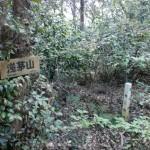 浅茅山山頂(大山砲台)の画像