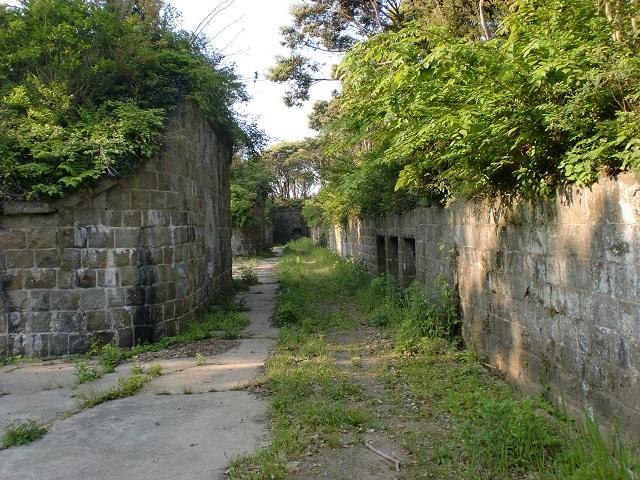 姫神山砲台の登山口 緒方地区の旧軍道入口にアクセスする方法