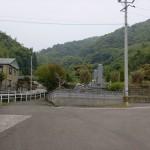 龍ガ岳登山口手前の分岐の画像