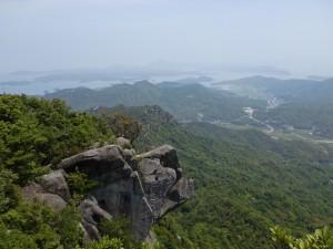 次郎丸岳山頂からの眺望(天草)の画像