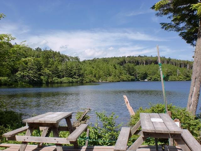 白駒湖(八ヶ岳)の画像