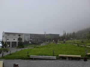 北八ヶ岳ロープウェイの山頂駅の画像