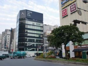 福岡市中央区天神橋口高交差点の画像