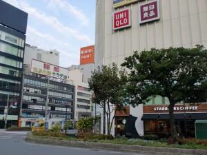 福岡市天神の旧天神ショッパーズ(ノース天神)前の画像