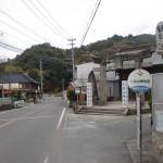 仁比山神社前バス停(昭和バス)の画像