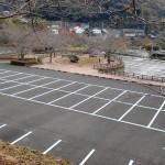 仁比山公園の駐車場の画像