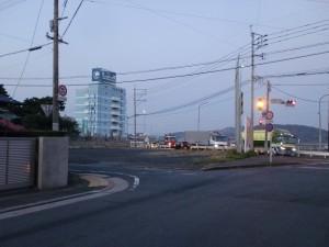国道199号線手前の長崎街道入口の画像