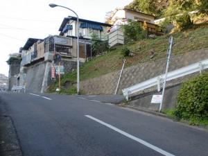 手向山東側の手向山公園入口の画像