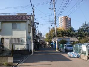小倉城下の閻魔堂から貴布禰神社へ向かう途中の長崎街道の画像