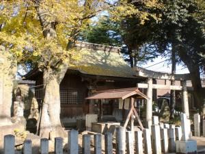 小倉城下の長崎街道沿いにある貴布禰神社(貴船神社)の画像