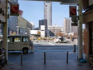 小倉中央商店街(長崎街道)常盤橋側出口の画像