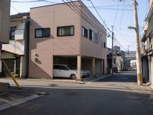 長崎街道小倉城下の心光寺手前の左折地点の画像