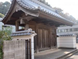 長崎街道小倉城下の法輪寺の画像