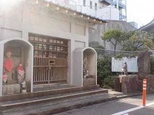 長崎街道小倉城下の水かけ地蔵の画像