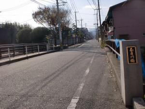 長崎街道小倉城下の茶屋川橋の画像
