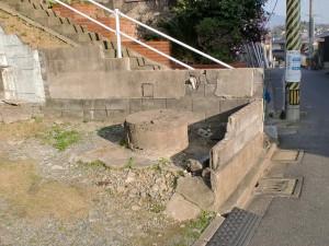 長崎街道・三条にある清水の水場の画像