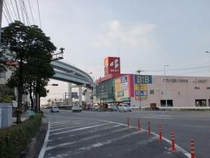 県道62号線から国道3号線に合流する個所(ベスト電器前)の画像