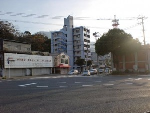 西本町一丁目の交差点の画像