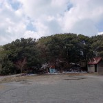 作礼山登山口の駐車場の画像