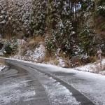 広域基幹林道荒川天川線と炭山林道の出合の画像