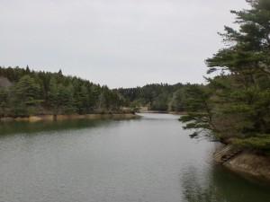 椿山溜池(唐津市)の画像