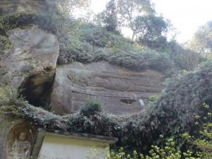 法安寺(岸岳登山口)の涅槃像の画像