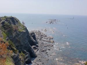 豆酘崎灯台(対馬)の画像