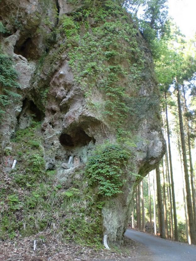三丁弓の岩(城井ノ上城(城井谷城)の画像