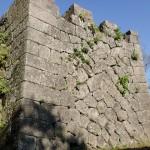岡城の石垣の画像