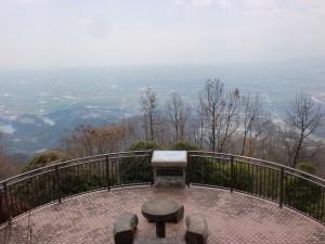 聖岳(佐賀)山頂展望台からの眺望の画像