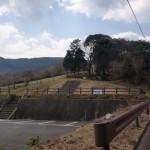 歌垣公園の駐車場(犬山岳登山口)の画像