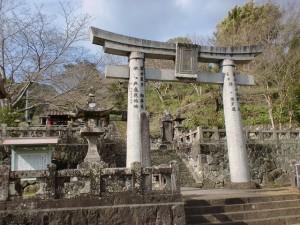 鳥越の八天神社(唐泉山登山口)の画像