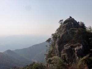 黒髪山山頂(天童岩)の画像