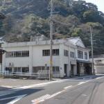 県道281号線の有田郵便局横の金比羅神社に入るところの画像