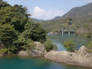 有田ダム(黒髪山・本城岳登山口)の画像