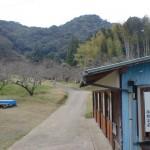 御船ヶ丘梅林の御船山登山道入口の画像