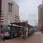 佐世保駅前バス停の画像